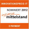 Novalnet gewinnt den 2. Platz des Innovationspreis-IT 2012