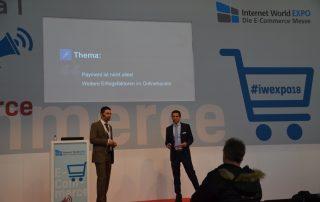 Vortrag der Novalnet AG auf der Internet World EXPO 2018