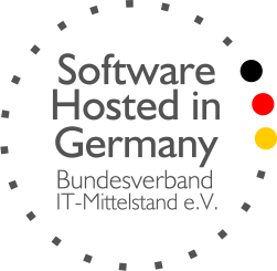 Logo Software hosted in Germany