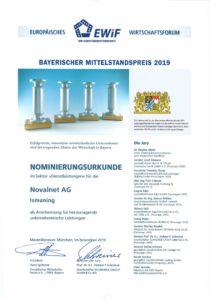 Bayerischer Mittelstandspreis Novalnet
