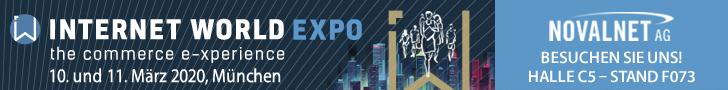 Internet Expo 2020 Novalnet