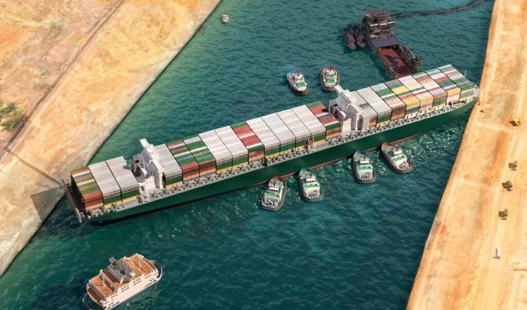 """Havarie im Suezkanal: Eigner der """"Ever Given"""" bittet Frachtkunden zur Kasse"""